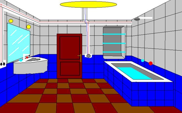 Instalaciones de luz en cuartos de baño