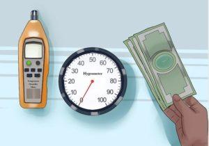 Como calcular la humedad